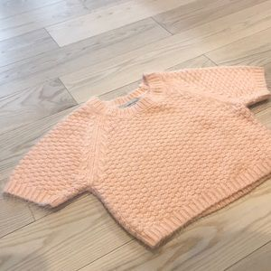 Lovers + Friends Crop Top light pink Sweater 💞💗